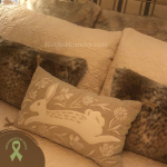 Photo of throw pillows on Not So Mommy..., an infertility & childless blog