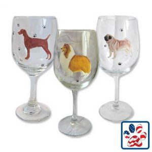 Dog Breed Wine Glass, available through The Not So Mommy... Shop for Fur Babies & Fur Mamas