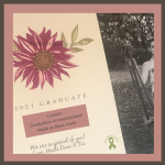 Photo of custom graduation announcement created at Basic Invite on Graduations, Birthdays, Special Occasions: From the perspective of a childless woman on Not So Mommy..., a childless blog
