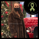 Photo of Brandi Lytle, founder of Not So Mommy... (an infertility & childless blog) and creator of the olive green Childless Not By Choice Awareness Ribbon
